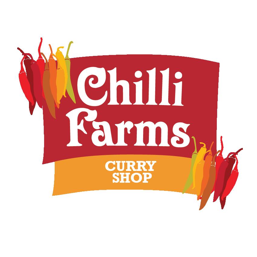 logo for Chilli Farm Curry Shop