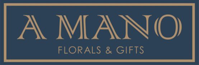 logo for A Mano Florals & Gifts