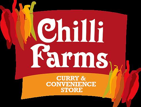logo for Chilli Farm Curry & Convenience Store